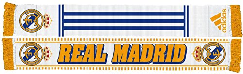 Real Madrid Soccer Futbol Adidas Authentic S387 Jacquard Team Scarf Bufanda
