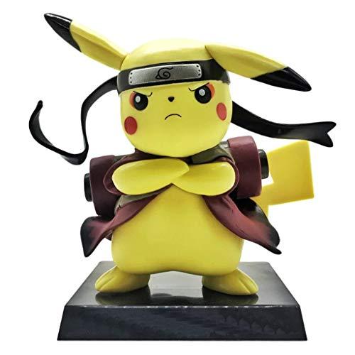 Yingjianjun Figura de acción de Pokémon Pikachu Nendoroid Cerca de 5.9 Pulgadas