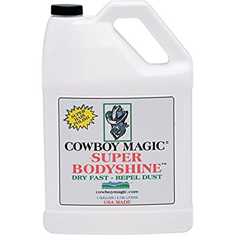 Charmar Land and Cattle COWBOY MAGIC Super Body Shine for Horse - Super One Gallon