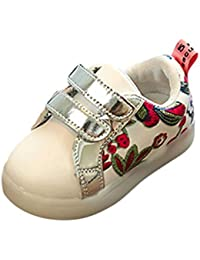 Amlaiworld Regalo Bambino Scarpe LED,Sportive Sneakers Multi-colore Luminoso Scarpe con Luce