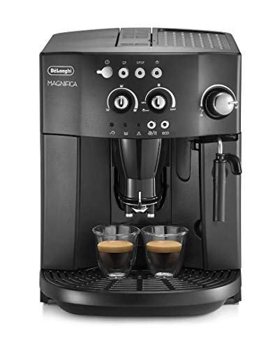 De'Longhi Esam4000.b Magnifica Bean to Cup Coffee Machine, 15 Bar - Black thumbnail