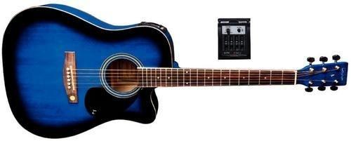 Tenson F501325 Akustikgitarre D10-CE, Cutaway Elektro-Acoustic