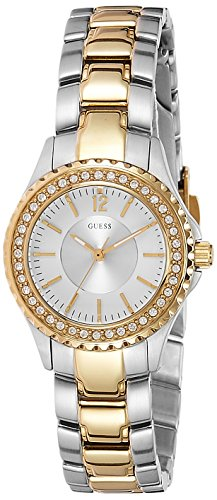 GUESS Analog White Dial Women's Watch - W0110L1 image