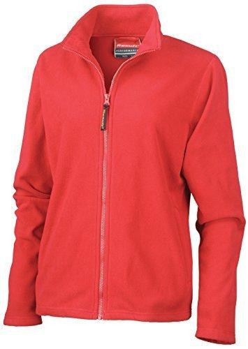 Result - Blouson - Polaire - Femme rouge cardinal