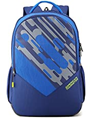 American Tourister 29 Ltrs Blue Casual Backpack (AMT Mist SCH BAG01 Blue)