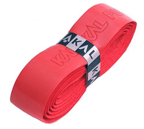 Karakal Griffband aus PU, rot, 6 Grips