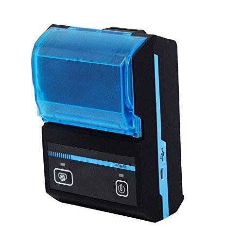 Thermischer Empfangs-drucker (COTOP 2 Zoll mini beweglicher bluetooth drahtloser Empfang thermischer Drucker Androide / iOS / Computer verbundenes Zeigendrucken rechargeble Höhengeschwindigkeitsdrucker)