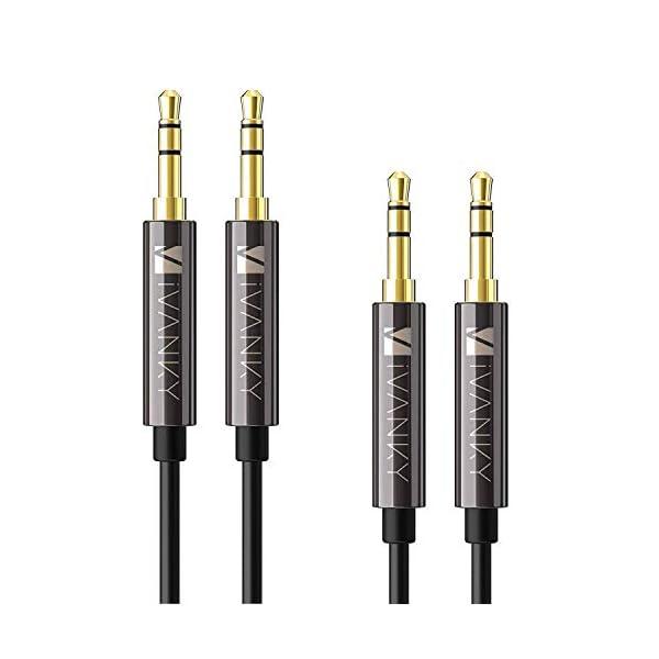 IVANKY TPE AUX Cable Black 41vvVX3vtVL