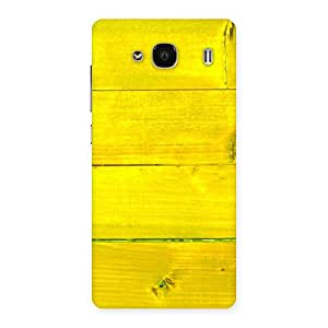 Enticing Yellow Backyard Back Case Cover for Redmi 2