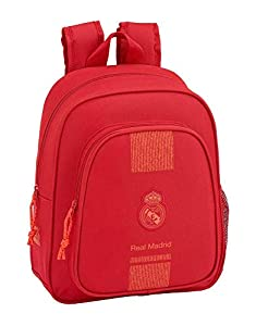 Real Madrid CF- Real Madrid Mochila Infantil, Color Rojo (SAFTA 611957524)
