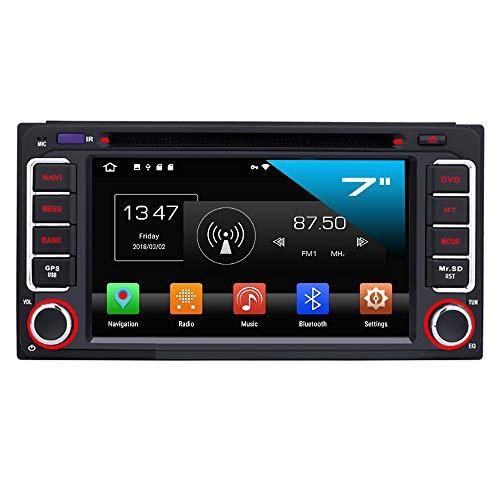 TAFFIO® Daihatsu Toyota RAV4 Corolla 2 Din Android 8 Autoradio GPS NAVI USB Bluetooth SD 4GB RAM + 32GB ROM Toyota Corolla/Camry/Land Cruiser/Hilux/Yaris/Highlander/Celica / MR2 / RAV4