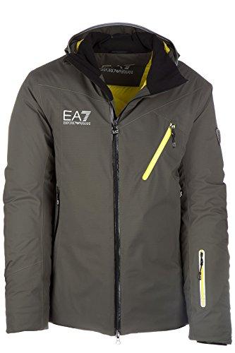 Emporio Armani EA7 giacca giubbotto da sci uomo invernale verde EU M (UK 38) 6XPG01 PN48Z 1852