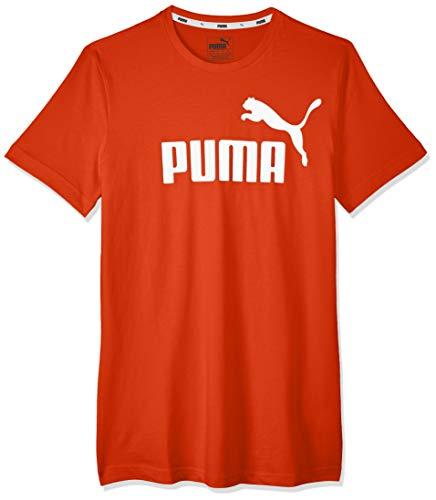 Puma Jungen ESS Logo Tee B T-Shirt, High Risk Red, 164 -