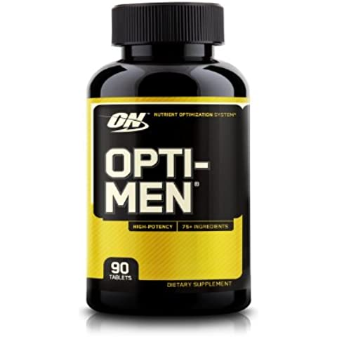 Optimum nutrition opti-men, 90 tabletas - multivitaminico de 70 ingredientes