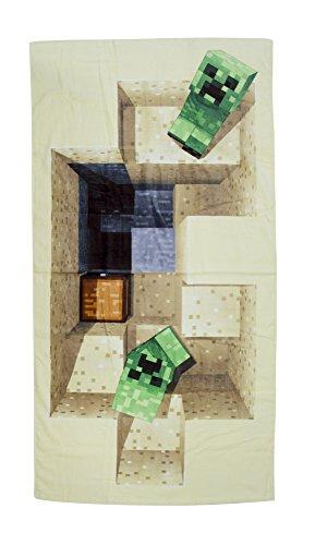 Minecraft – Creeper Strandtuch