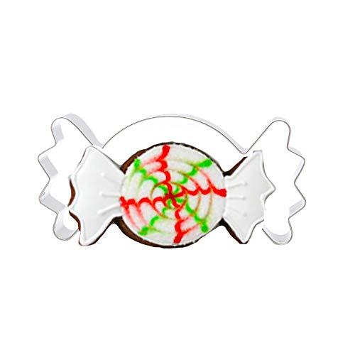 (Mitlfuny Weihnachten Home TüR Dekoration 2019,1 stück Weihnachten Kuchen ausstecher Edelstahl formwerkzeuge)