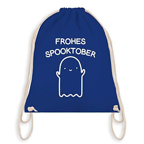 Halloween - Frohes Spooktober Halloween - Unisize - Royalblau - WM110 - Turnbeutel & Gym Bag