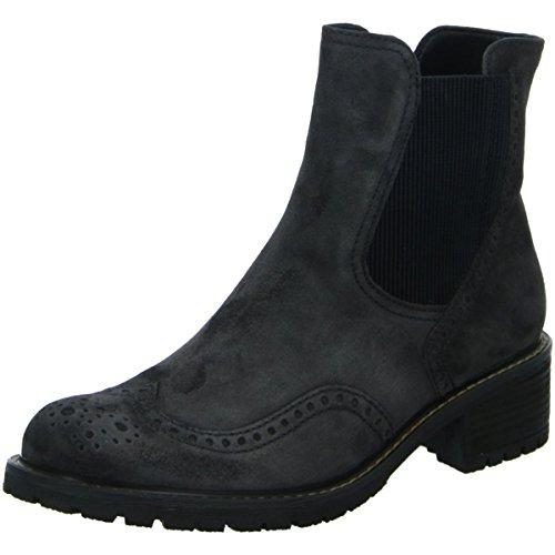 Gabor - Damen Stiefeletten - Grau Schuhe in Übergrößen, Größe:42.5