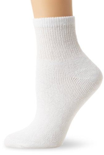 Fruit Of The Loom Women's 10 Pack Cushioned Ankle Crew Socks