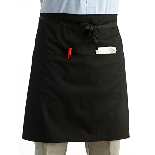 Delantal cocina delantal corto camarera camarero bolsillos