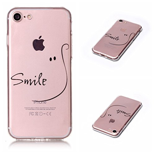 Apple iPhone 7 4.7 Hülle, Voguecase Schutzhülle / Case / Cover / Hülle / TPU Gel Skin (Feder-Anhänger) + Gratis Universal Eingabestift Smile 07
