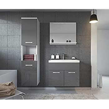 1000 vanity unit with basin for bathroom ensuite wall for Bathroom cabinets montreal