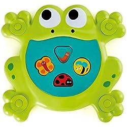 Hape Feed-Me Bath Frog Juguete De Baño Rana Hambrienta,, única (6910209)