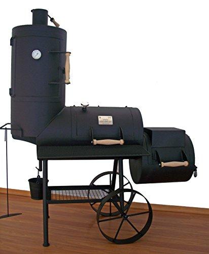 myowngreen Smoker Maxi 16 Zoll mit Rauchkammer, 5 mm Stahlblech