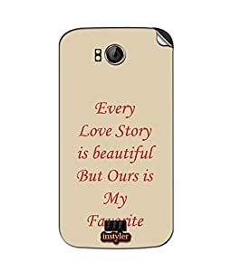 instyler SKIN STICKER FOR MICROMAX CANVAS MUSIC A88