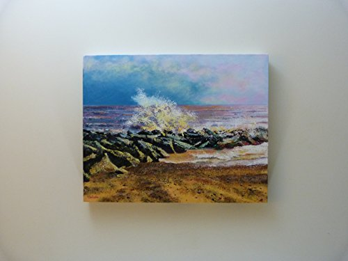 pittura-originale-costa-orientale-schizzi-di-christopher-a-smith