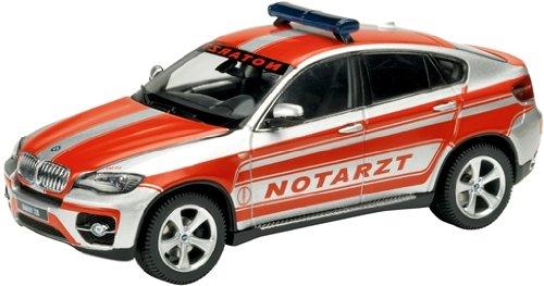 Schuco 450721400 BMW X6 Ambulancia 1:43