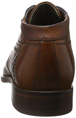 Daniel Hechter 811175051100, Derby homme Marron - Braun (Cognac 6300)