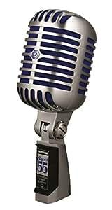 Shure SUPER 55 Microphone Argent
