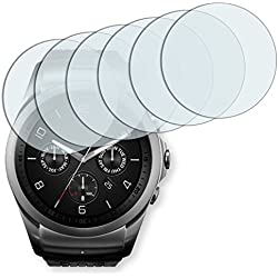 6x Golebo Anti-Glare screen protector for LG Watch Urbane 2nd Edition (Anti-Reflex, Air pocket free application, Easy to remove)