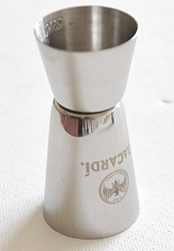 Bacardi Cuba Libre 50/25ml Spirituosen Messen Edelstahl (Box)