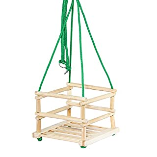 Tupiko HD Wooden Swing, Multi-Color