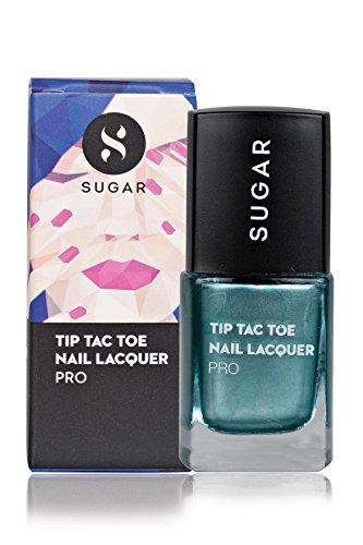 SUGAR Tip Tac Toe Nail Lacquer, 043 Deep Down Diopside (Metallic Emerald Green)