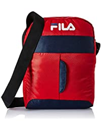 Fila Polyester 30.5 cms Red/Pea Messenger Bag (Martin)