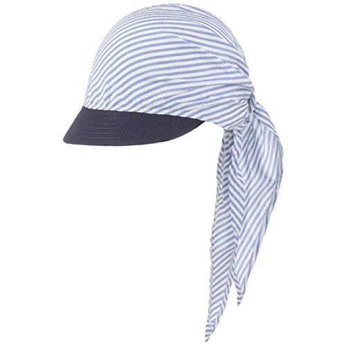 McBURN Jasmine Bandana con Visiera berretto da spiaggia Taglia unica - blu c002577c1681