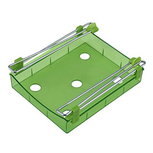 vybio (TM) Universal Creative estante para frigorífico capa partición cajón extraíble de soporte organizador estante de la cocina de rack de almacenamiento de lado