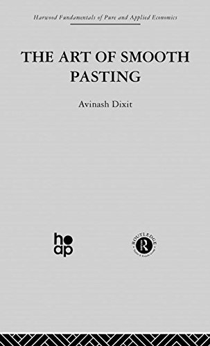 The Art of Smooth Pasting (Harwood Fundamentals of Pure and Applied Economics)