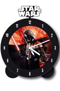Star Wars Wecker mit Darth Vader Sound Glow In The Dark Uhr Clone Wars mit leuchtendem Schwert