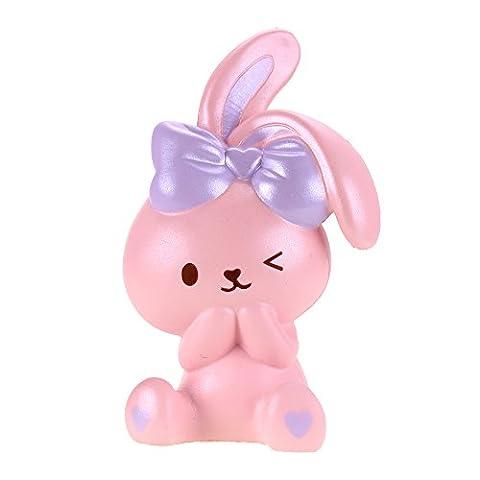 VLAMPO Squishy Spielzeug Squishies Soft Slow Rising Bunny Kuchen 6.8