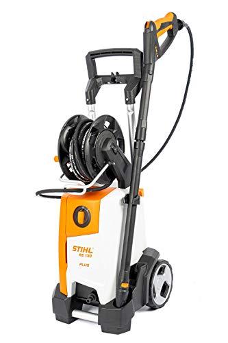 Stihl RE 130 Plus Hochdruckreiniger mit 135 bar Arbeitsdruck & Aluminium-Pumpenkopf