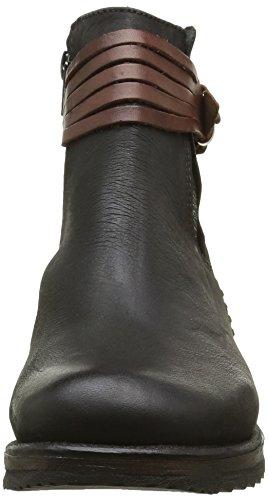 Bunker - Booty, Stivali a metà polpaccio con imbottitura leggera Donna Nero (Black (nero))