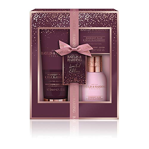 Baylis & Harding Midnight Prum & Wild Blackberry Luxury Bath & Body Treats