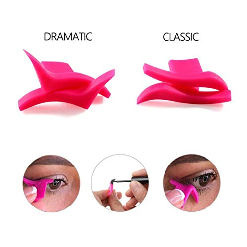 Eyeliner Template Stencil Models Professional Makeup New Wing Style Kitten Large Size Cat Eye Wing...