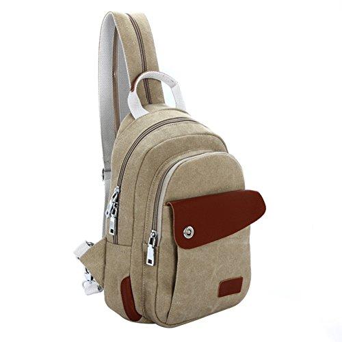 borsa di tela/pacchetto tempo libero/pacco petto Ms./borsa diagonale/zaino-E B