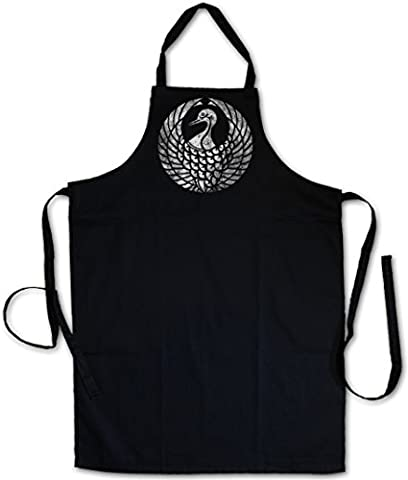 MORI CLAN MON BARBECUE BBQ COOKING KITCHEN GRILLING APRON - Shogun Samurai Ninja Flag