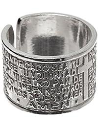 Córdoba Jewels | Anillo en Plata de Ley 925. Diseño Padre Nuestro